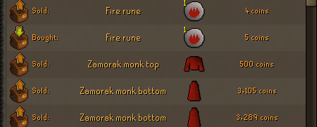 Flipping OSRS Items