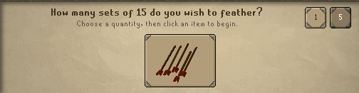 Fletching OSRS Example (2)